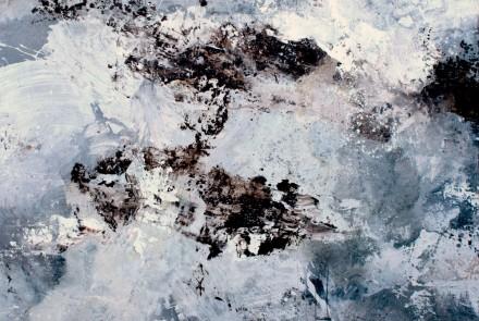 """Soy de Piedra, Soy de Agua""170x180 cm. oleo/tela"